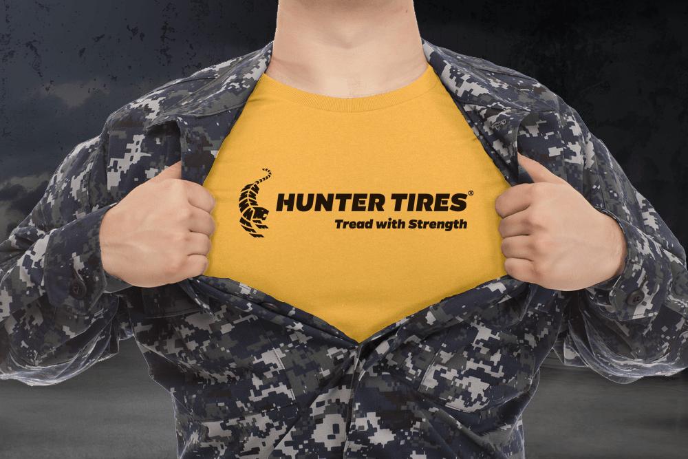 Hunter Tires Veteran Owned Business
