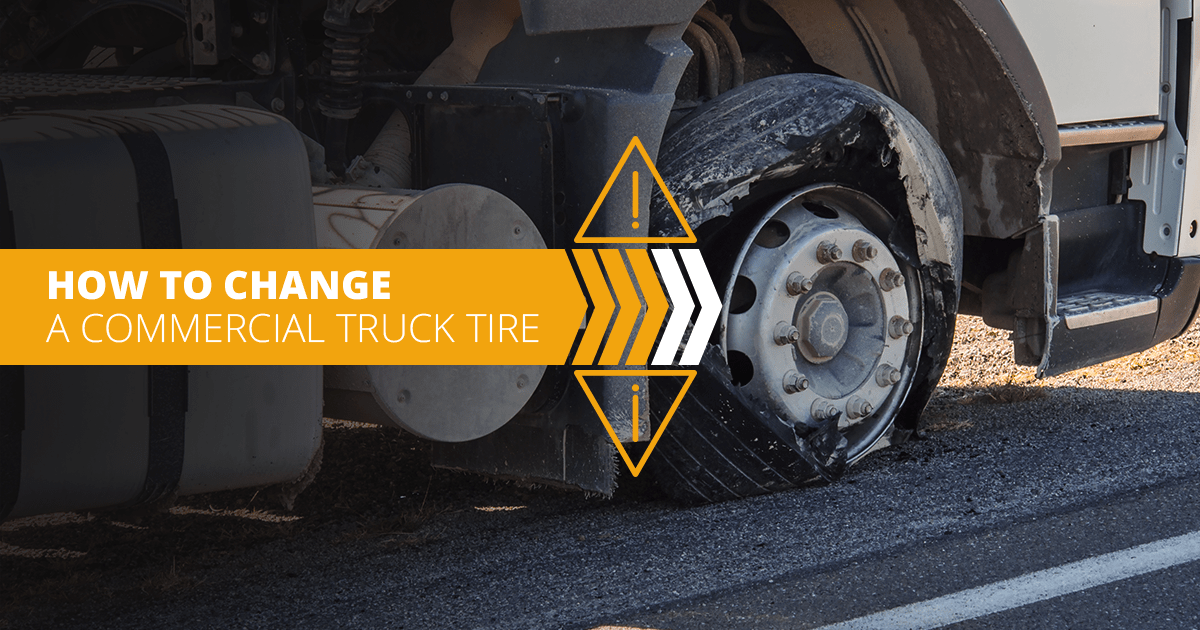 HOW TO CHANGE A COMMERCIAL TRUCK TIRE