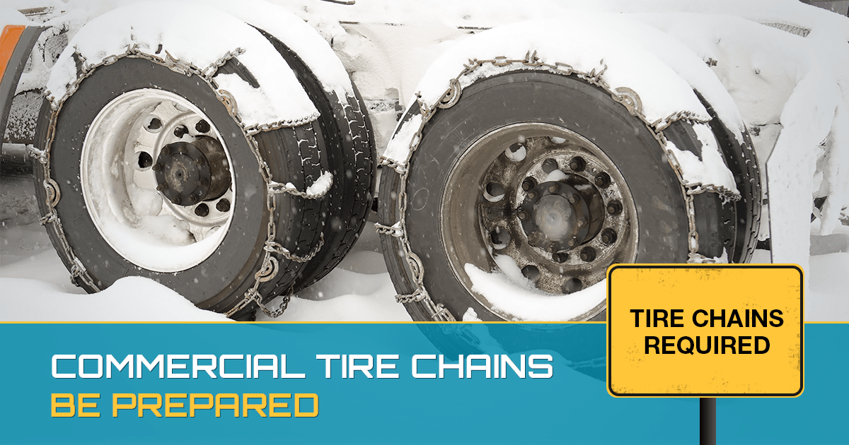 COMMERCIAL TIRE CHAINS – TIS THE SEASON