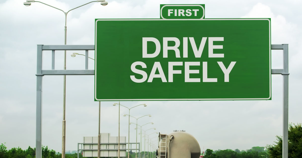 TRUCKING SAFETY SHOULD COME FIRST